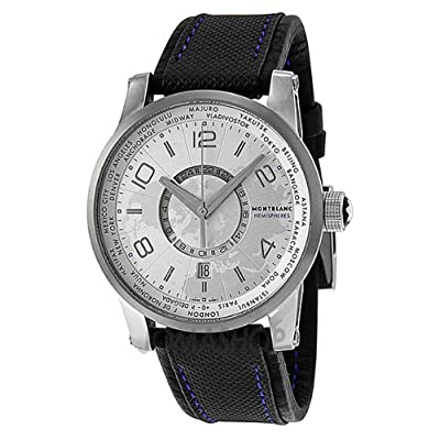 Montblanc Timewalker World-Time Hemispheres Automatic Mens Watch 108955