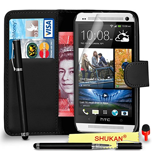 htc-one-m7-premium-leather-black-wallet-flip-case-cover-pouch-2-in-1-ball-pen-touch-stylus-pen-red-2