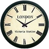 MeSleep London Vintage Wall Clock (With Glass)