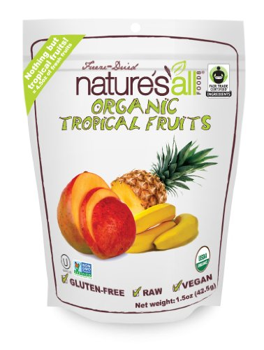 Nature S All Foods Freeze Dried Tropical Fruits