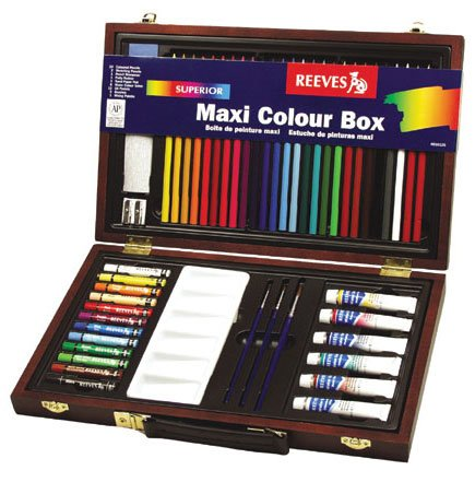 Reeves Superior Maxi Colour Art Box