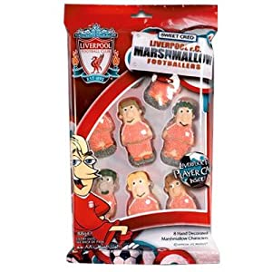 Sports Candy Liverpool Fc Marshmallow Footballers 88 G from SPOWC