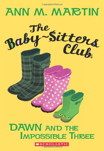 The Baby-Sitters Club #5: Dawn And The Impossible Three front-976862