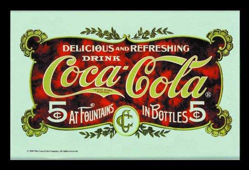 empire-merchandising-537218-miroir-imprime-carte-postale-coca-cola-avec-cadre-en-plastique-facon-boi