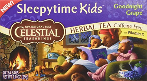 CELESTIAL SEASONINGS HERB TEA,SLPYTIME,KDS,GRP, 20 BAG (Grape Tea compare prices)