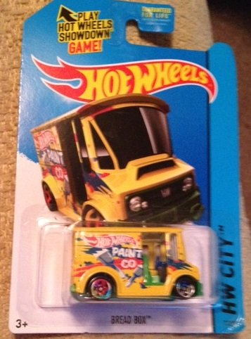 Hot Wheels Yellow Bread Box hot wheels paint co Hw city 7/259 New