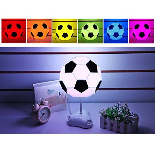 USUN-7-Farben-DIY-Fuball-LED-Schreibtisch-Tabellen-Licht-Lampe-Bunte-Nachtlicht-kreative-Lichter