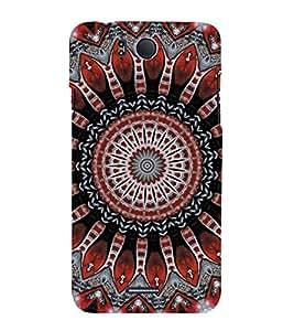 EPICCASE Festive Chakra Mobile Back Case Cover For InFocus M530 (Designer Case)