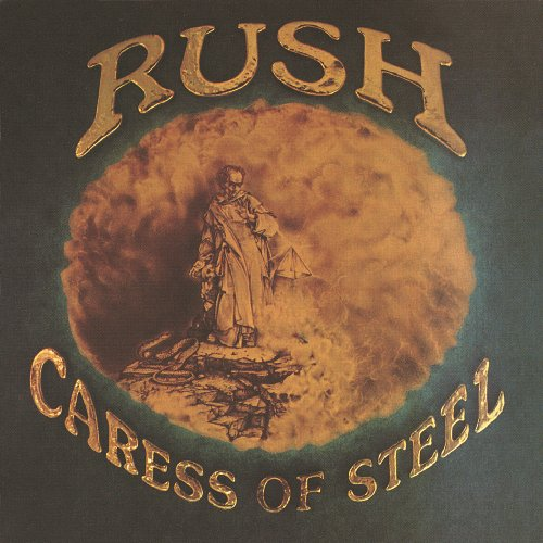 Original album cover of Caress Of Steel by Rush