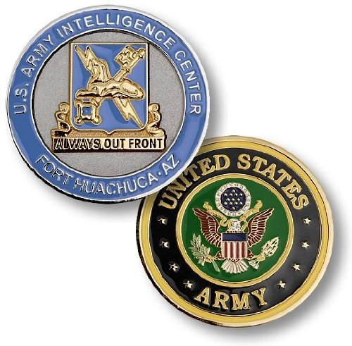 1 X U.S. Army Intelligence Center, Fort Huachuca, AZ Challenge Coin
