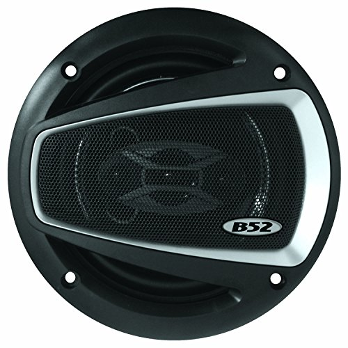 B52CarAudio ELS 6.5 II 1000W 6.5-Inch 4-Way Car Speaker (Pair) (1000 Watts Car Stereo compare prices)