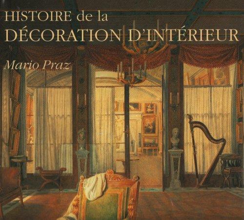 livre histoire de la d coration d 39 int rieur la philosophie de l 39 ameublement. Black Bedroom Furniture Sets. Home Design Ideas