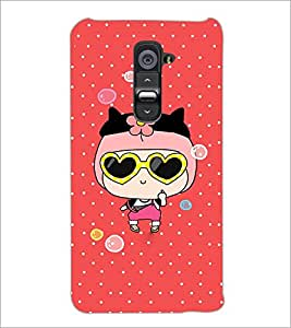 PrintDhaba Cartoon D-4287 Back Case Cover for LG G2 (Multi-Coloured)