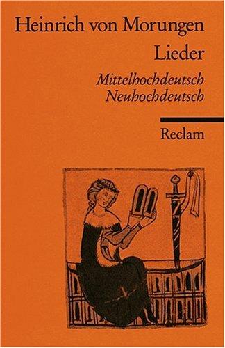 Lieder: Mittelhochdt. /Neuhochdt.: Mittelhochdeutsch und neuhochdeutsch