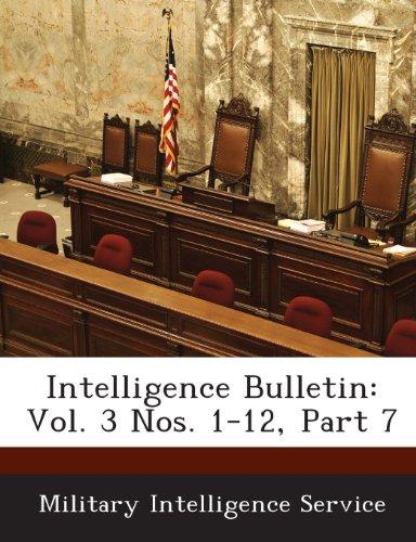 Intelligence Bulletin: Vol. 3 Nos. 1-12, Part 7