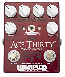 Wampler Ace Thirty Overdrive Pedal by Wampler
