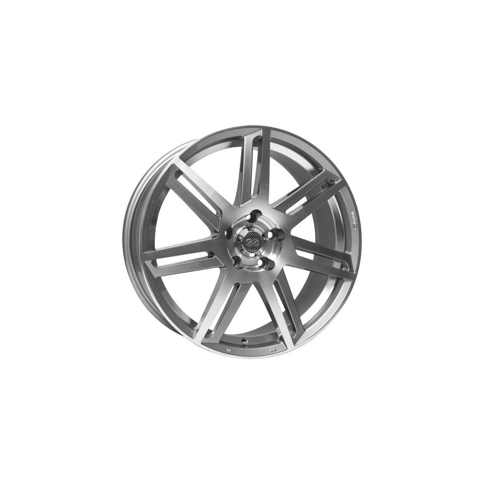 18x8 Enkei Aletta (Silver / Machined) Wheels/Rims 5x112 (458 880 4435SM)
