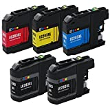 E-Z Ink (TM) Compatible Ink Cartridge Replacement For Brother LC203 XL LC203XL High Yield (2 Black LC203BK 1 Cyan...