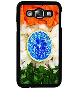 ColourCraft Creative Image Design Back Case Cover for SAMSUNG GALAXY E5