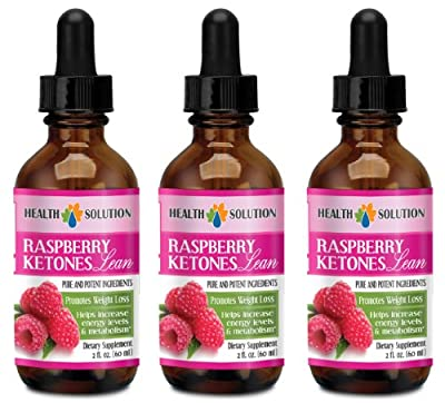 Raspberry drops - RASPBERRY KETONES LEAN 160MG - suppress the appetite (3 Bottles)