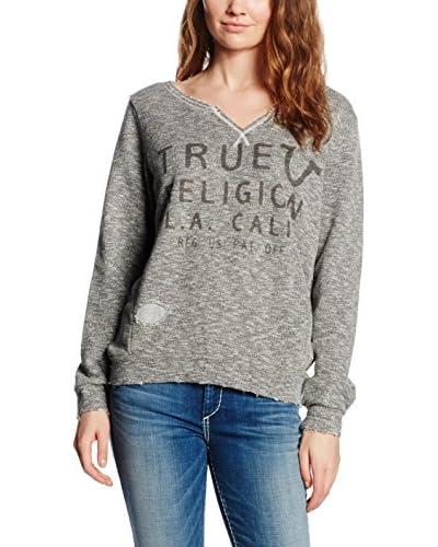 True Religion Felpa [Grigio]