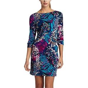 Amazon.com: ABS Allen Schwartz Women's Boatneck Tee Dress: Clothing from amazon.com