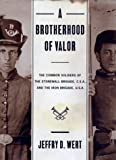 A Brotherhood of Valor: The Common Soldiers of the Stonewall Brigade, C.S.A., and the Iron Brigade, U.S.A (0684824353) by Wert, Jeffry D.
