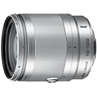 Nikon 3328 Compact ILC Lenses 1 NIKKOR 10-100mm f/4.0-5.6 VR Lens (Silver)