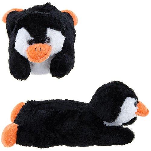 Image of Penguin Animal Slippers for Women (B009TH3ODA)