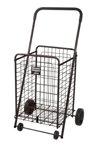 Drive Medical 605B Winnie Wagon All Purpose Cart, Black front-348194