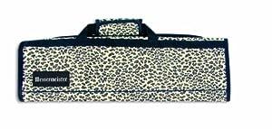 Messermeister 8 Pocket Knife Roll, Leopard