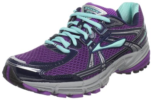 Brooks Women's Adrenaline GTS 11 Running,PrplMgic/AquaSky/Obs,7.5 B US