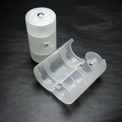単三乾電池を単一乾電池に変換 電池スペーサー 2個セット ES31