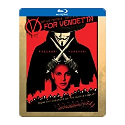 V for Vendetta [Blu-ray Steelbook]