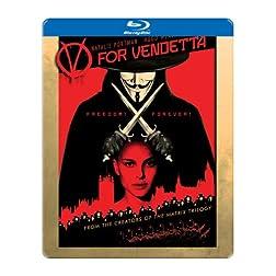 V for Vendetta [Blu-ray Steelbook]