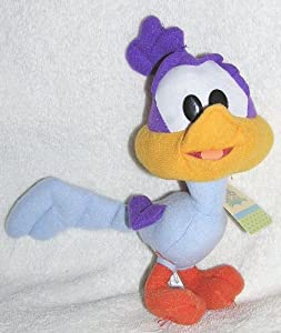 "Baby Looney Tunes 7"" Stuffed Plush Baby Road Runner Doll"