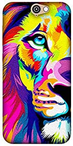 The Racoon Grip printed designer hard back mobile phone case cover for HTC One A9. (Eye of the)
