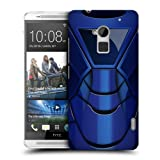 Head Case Blue Armour Collection Protective Hard Back Case Cover For Htc One Max