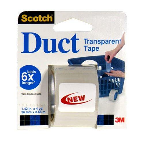 Scotch Transparent Tape Duct 1 rollB0000E69DR : image