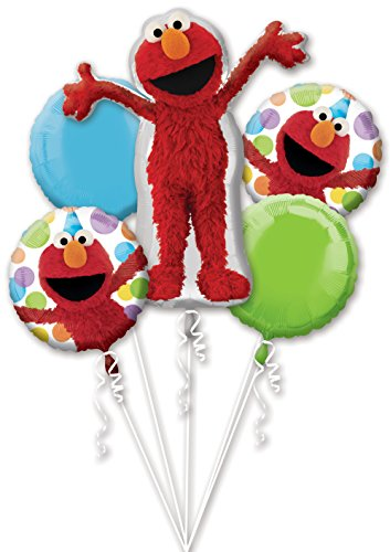Mayflower BB021463 Elmo Mylar Balloon Bouquet - 1