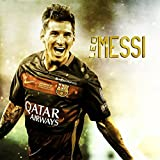 Printelligent football sports Messi Poster