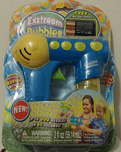 Amazing Bubbles Exstream Bubble Gun (Assorted Styles) - 1