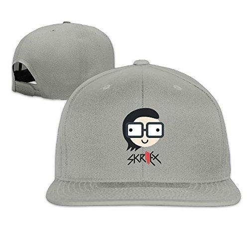 zoeystyle-skrillex-logo-flat-baseball-caps
