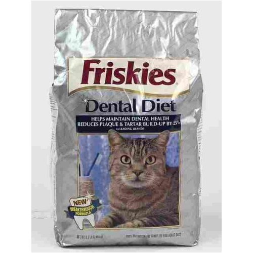 Friskies Dental Diet Dry Cat Food