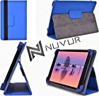 Blue - Pandigital Novel 7 Tablet (R70E200) Case|Cover With Adjustable Stand NuVur ™ |MU08EXB1|