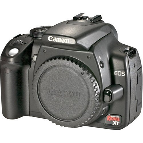 Canon EOS Digital Rebel XT (Body Only) is the Best Point and Shoot Digital Camera for Travel, Action, and Low Light Photos Under $750