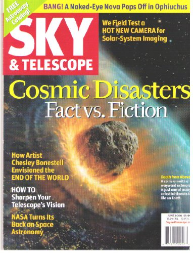 Sky And Telescope Magazine June 2006: A Collision With A Wayward Asteroid