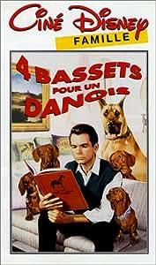 Quatre bassets pour un danois [VHS]