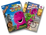 echange, troc Barney - Barney - Round and Round We Go/Let's Go to the Zoo [Import USA Zone 1]
