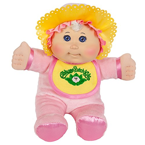 Cabbage Patch Kids: 11 inch Pink Retro Baby Doll (Caucasian Girl, Blonde Hair, Blue Eyes) (Cabbage Patch Vintage compare prices)